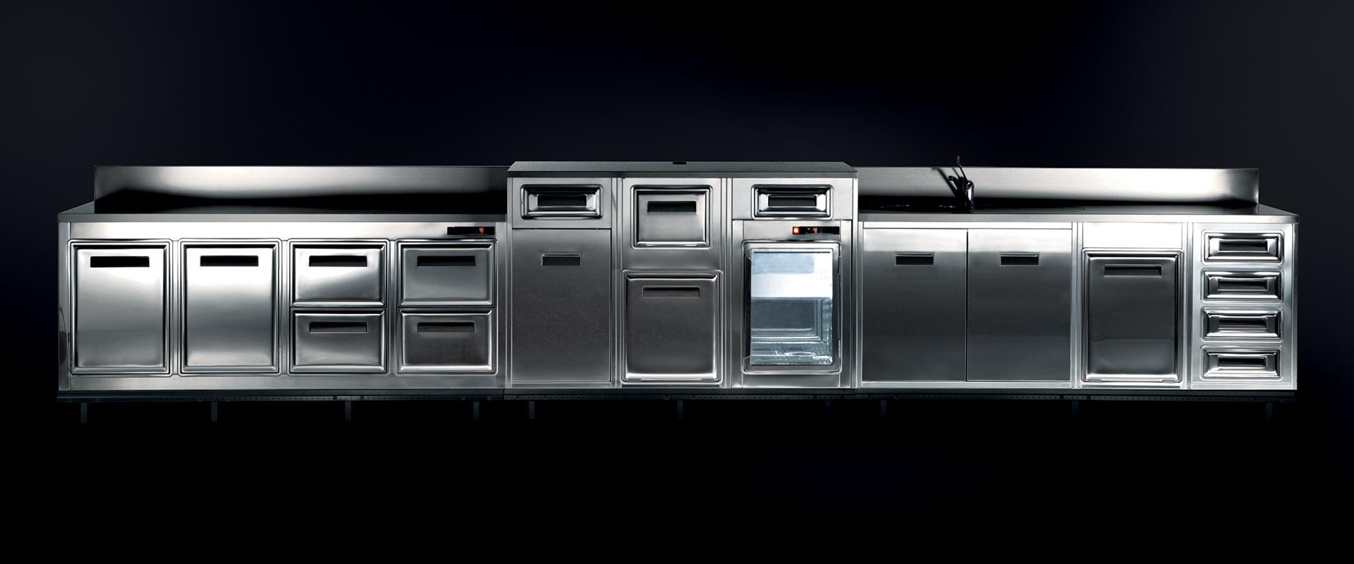 Banchi bar e retro banchi refrigerati brx for Banchi bar e arredamenti completi