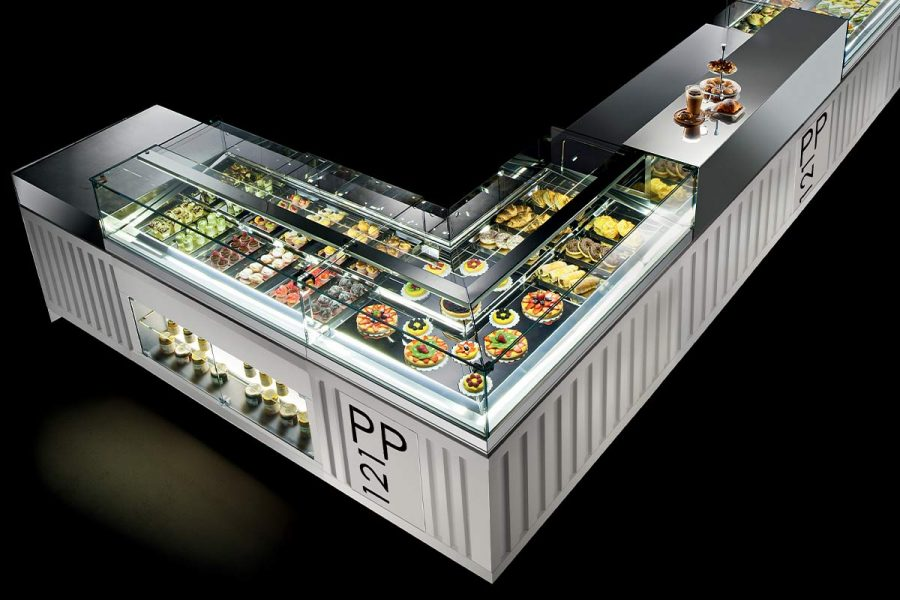 Refrigerated Hot And Neutral Display Counters Brx